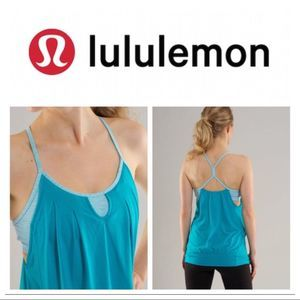 Lululemon Let It Loose Tank In Surge/Surge Wee